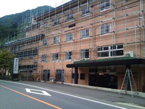 ホテル塗装工事